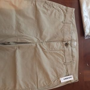 2 pair khaki pants